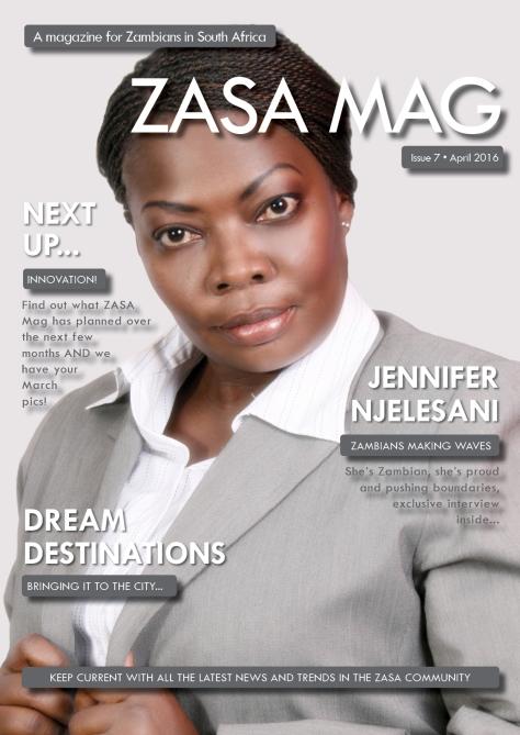 ZASA Magazine - Issue 7 - April 2016_Cover