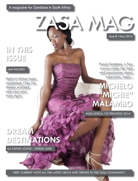 ZASA Magazine - Issue 8 - May 2016_Cover