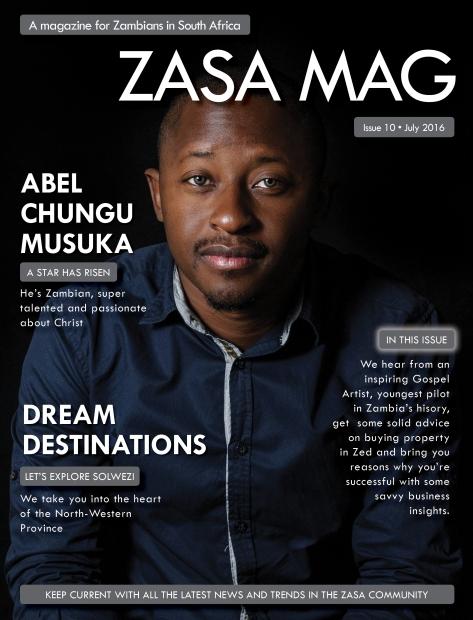ZASA Magazine - Issue 10 - July 2016_Cover
