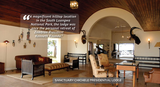 Dream Destinations | Sanctuary Chichele Presidential Lodge