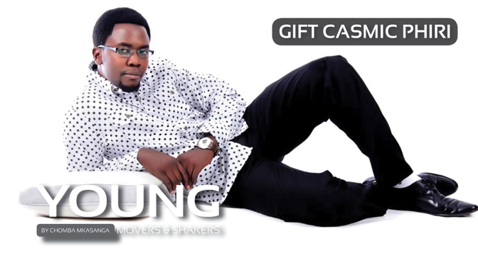 Young Movers and Shakers | Gift Casmic Phiri