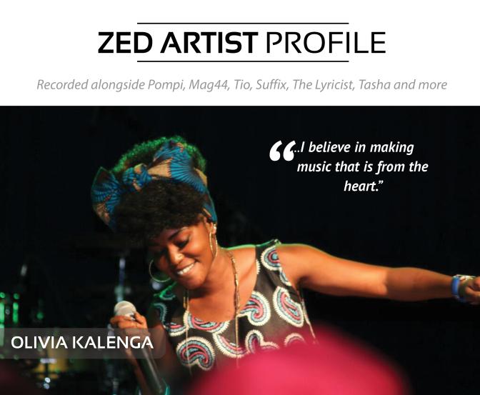 Zed Artist Profiles | Olivia Kalenga