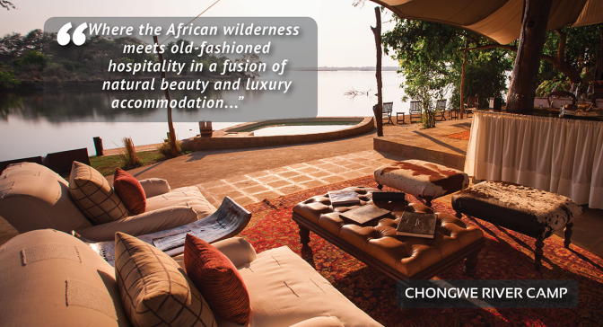 Dream Destinations | Chongwe River Camp