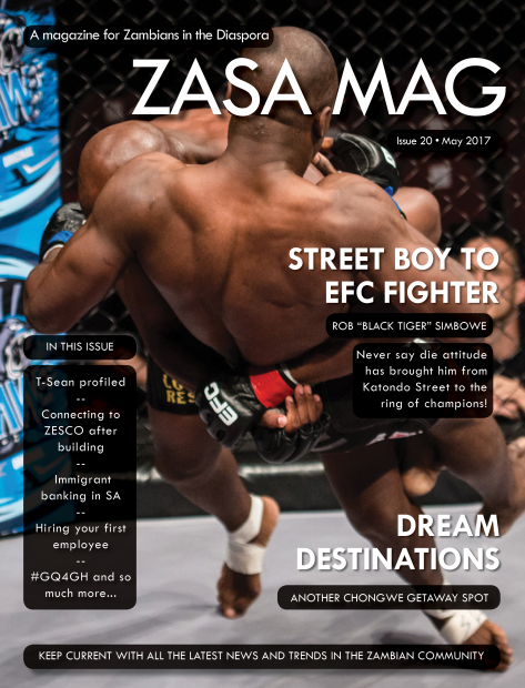 ZASA Magazine - Issue 20 - May 2017_Cover