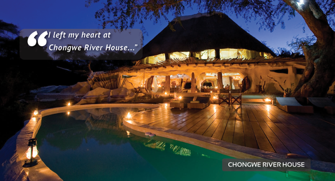 Dream Destinations | Chongwe River House