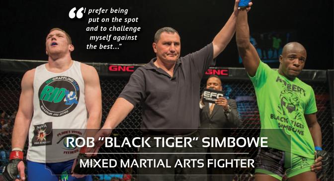 "Feature Story | Rob ""Black Tiger"" Simbowe"